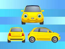 cars characters yellow car cartoon character