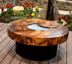 Fire Pit Glass Rocks by Round Fire Pit Table Shelby Knox