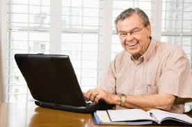 Man On Computer Meme - old man on computer blank template imgflip
