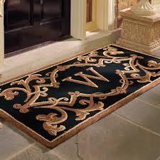 great w front door mats oversized for outdoor and black wood door