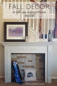 an equestrian touch for fall decor
