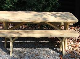 Hammer Wooden Picnic Tables And Outdoor Serving Tables Discover by How To Makeover A Plain Picnic Table And Add Lighting How Tos Diy