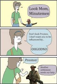 Funny Fallout Memes - why the internet loves preston garvey fallout memes for now