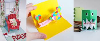 20 pop up card ideas craft paper scissors