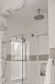 Sliding Shower Doors For Small Spaces Pivot Vs Sliding Shower Doors The Small And Chic Home