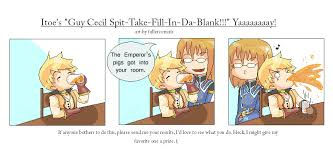 Spit Meme - itoe s guy cecil spit meme by sayuhiro on deviantart