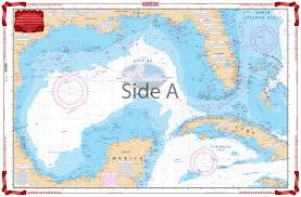 map of the gulf of mexico waterproof chart 04 caribbean and gulf of mexico planning chart
