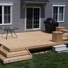 decor outdoor dining and backyard deck ideas with deck railings
