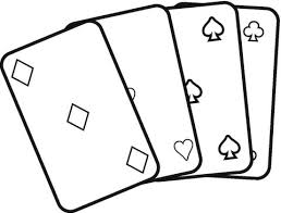 cards coloring page free printable coloring pages