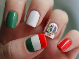 38 awesome nail art designs inspired by the world cup flag nails