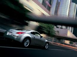 Nissan 350z Silver - nissan 350z diamond silver rear angle speed 1024x768 wallpaper