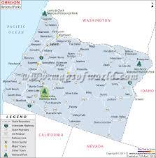 map of oregon us buy map of oregon national parks