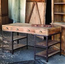 Metal Desk Vintage Metal Desk Look 4 Less And Steals And Deals