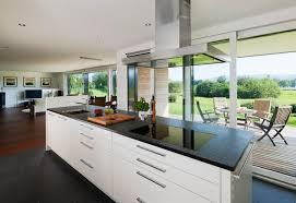 cuisine ouverte ilot central cuisine ouverte sur salon avec ilot central cuisine en image