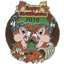 thanksgiving pins your wdw store disney happy thanksgiving pin 2010 chip and dale
