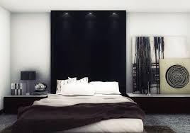 chambre noir gris décoration chambre noir