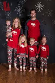 moose fair isle pajamas for the whole family so comfy