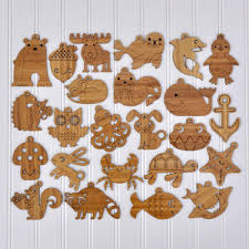 sleepy fox wooden christmas ornament graphic spaces