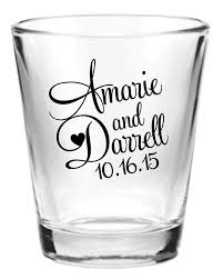 wedding favor glasses 48 personalized wedding favor 1 5oz glasses by factory21 my