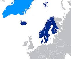 Scandinavia On Map Home Scandinavian Studies Library Guides At University Of