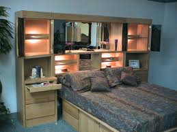 Modern Tv Units For Bedroom Modern Bedroom Wall Units Ideas With Led Lighting Above Tv Units