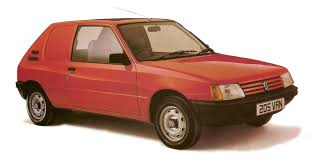 hatchback cars 1980s hatch heaven peugeot 205 van hatchback 1985