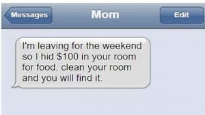 Trending Funny Text Messages To - 28 funny text messages you will have with your parents
