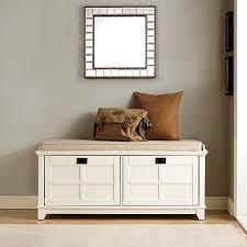 entryway bench crosley furniture adler entryway bench white 8480806 hsn