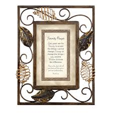 serenity prayer picture frame cbgt serenity prayer picture frame reviews wayfair ca