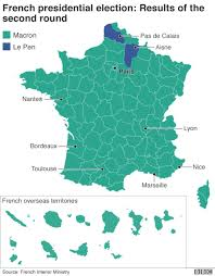 Maps France by The Maps That Show How France Voted And Why Bbc News