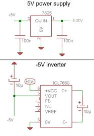 led display digital voltmeter circuit diagrams schematics