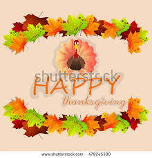 happy thanksgiving banner thanksgiving background vector stock