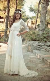 long sleeves empire bridals dress empire style waist wedding