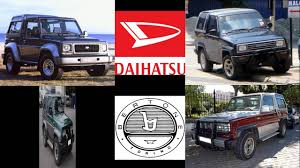 daihatsu rocky engine daihatsu rocky feroza bertone freeclimber 1 2 4x4 engine