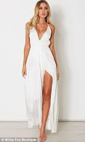 white dress the white dress is the new lbd how to shop it daily