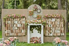 wedding backdrop ideas vintage 40 creative indoor wedding ceremony backdrops weddingomania