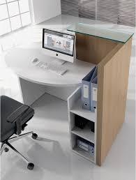 bureau d accueil petit bureau d accueil compact novo pas cher delex mobilier