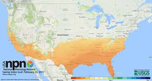 usa map just states just how early is arriving in your neighborhood find out