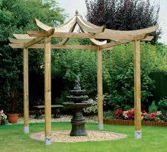 exterior design cool pergola plans for garden decoration ideas