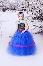 Anna Frozen Costume Handmade Anna Frozen Inspired Baby Girls Tutu Dress Costume