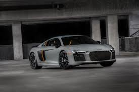 u s spec 2018 audi r8 gets the laser lights it always deserved