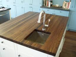 kitchen triple waterfall edge on new venetian gold kitchen