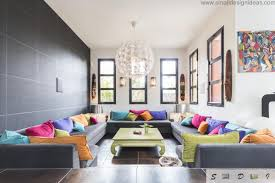 Bright Colorful Living Room Paint Ideas - Colorful living room