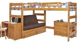Futon Bunk Bed Wood Twin Over Full Futon Bunk Bed Instructions Eclipse Twin Over Full