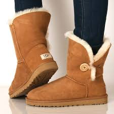 womens ugg boots with buttons ugg boots womens bailey bow