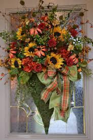 pumpkin door decoration 181 best front doors images on pinterest flower arrangements
