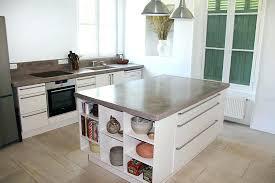 cuisine beton plan de travail beton plan travail cuisine beton cire pour plan de