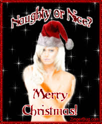 Sexy Christmas Meme - naughty or nice christmas sexy girl glitter graphic greeting