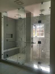 interior chic standing shower bathroom bathrooms alex freddi