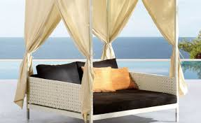 Outdoor Canopy Daybed Daybed Complete Coverage An Outdoor Daybed To Linger On